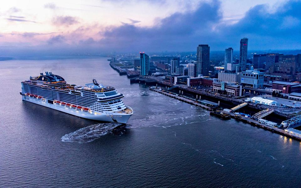 MSC Virtuosa cruise ship - Peter Byrne/PA Wire