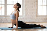 """<p>Even if you're more of a <a href=""""https://www.popsugar.com/fitness/How-Late-Can-I-Work-Out-45883060"""" class=""""link rapid-noclick-resp"""" rel=""""nofollow noopener"""" target=""""_blank"""" data-ylk=""""slk:night workout person"""">night workout person</a>, take at least 10 minutes this morning to move and get your blood and endorphins pumping. """"Get creative,"""" Dr. Ho suggested. """"If you are short on time, even doing some household chores with a fast pace to dance music will work! You can certainly get something out of even a 10 to 15 minute session.""""</p>"""