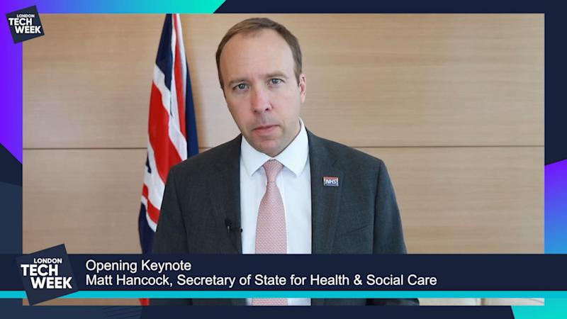 Matt Hancock calls for more technology and data use in the NHS