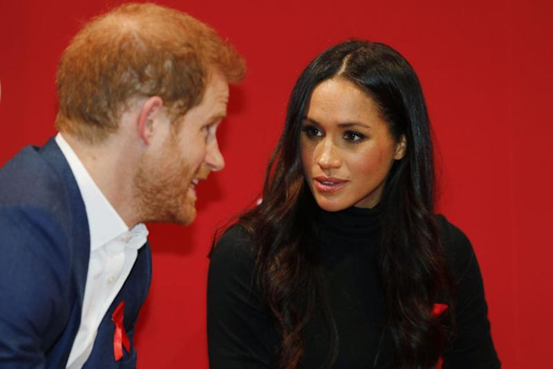 Meghan was quoted saying that she 'wasn't allowed' to take selfies. Photo: Getty