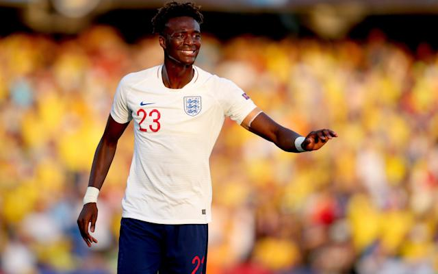 Abraham is cutting short his holidays after the Under-21s European Championship to join Chelsea's pre-season in Japan - Getty Images Europe