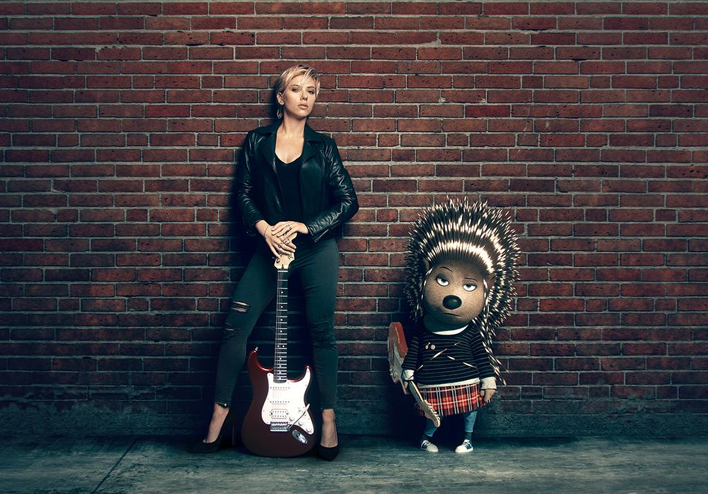 <p>Johansson voices the porcupine Ash. (Photo: Illumination/Universal) </p>