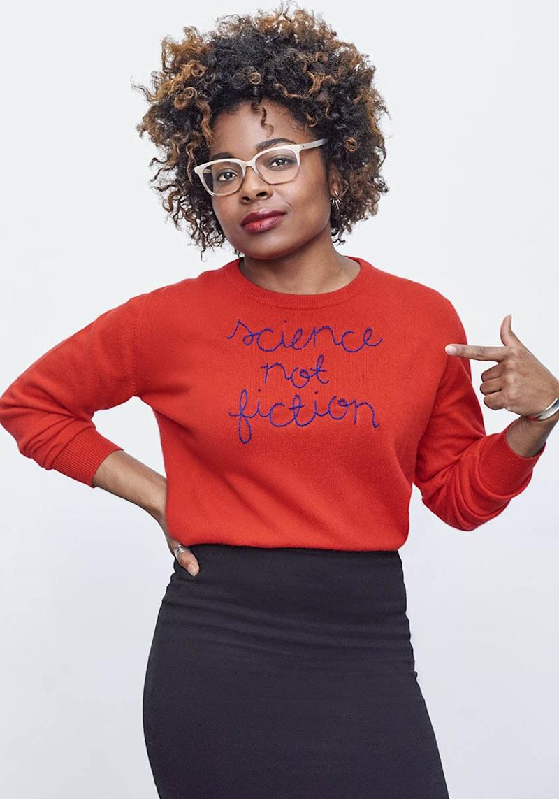 "Women's Activists Are Literally Wearing Their Politics on Their Sleeves with New ""Resistance Sweaters"""