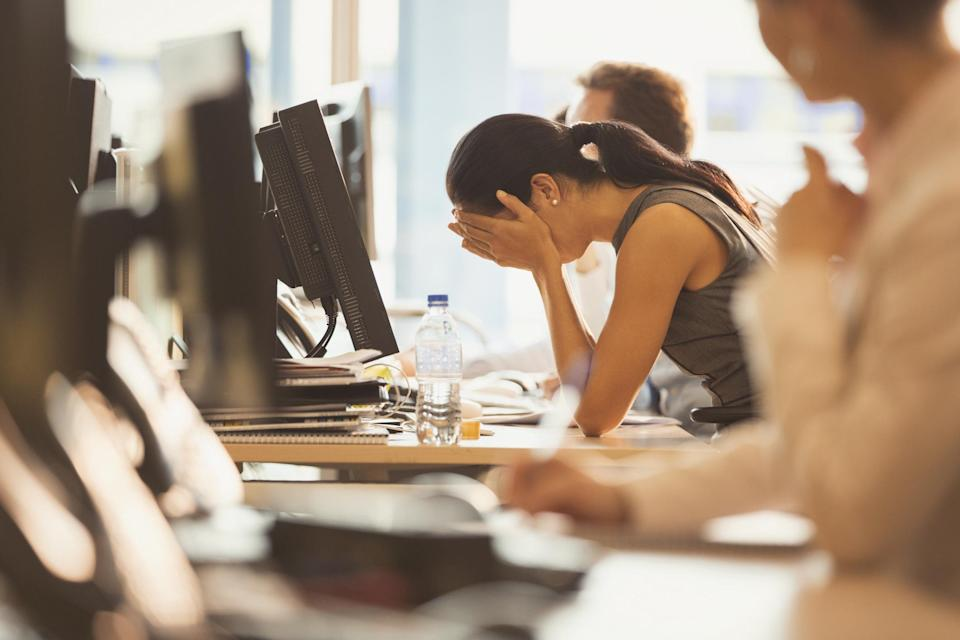 Are you hurtling towards stress-related burnout? [Photo: Tim Gouw via Pexels]