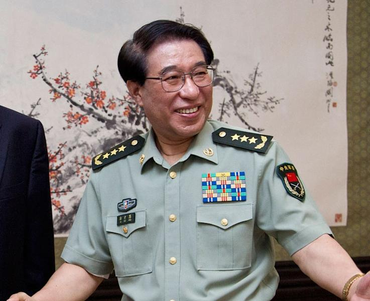 Chinaese ex-general Xu Caihou, seen here in 2012, was once the vice-chairman of the Central Military Commission and a member of the Communist Party's 25-strong Politburo (AFP Photo/)