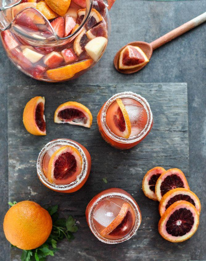 "<strong>Get the <a href=""http://www.howsweeteats.com/2013/02/blood-orange-sangria/"" target=""_blank"">Blood Orange Sangria recipe </a>from How Sweet Eats</strong>"