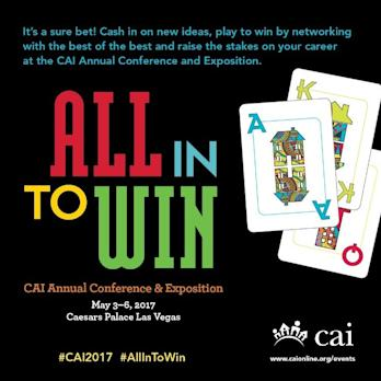 Community Associations Institute (CAI) Hosts 2017 Annual Conference and Exposition