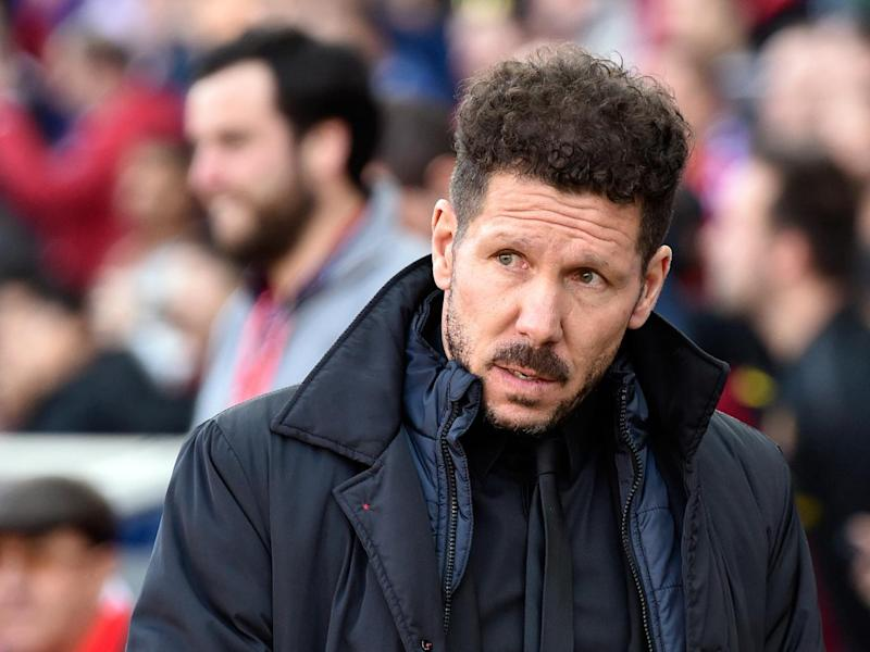 Diego Simeone will be looking to maintain Atletico's impressive record at the Bernabeu (Getty)