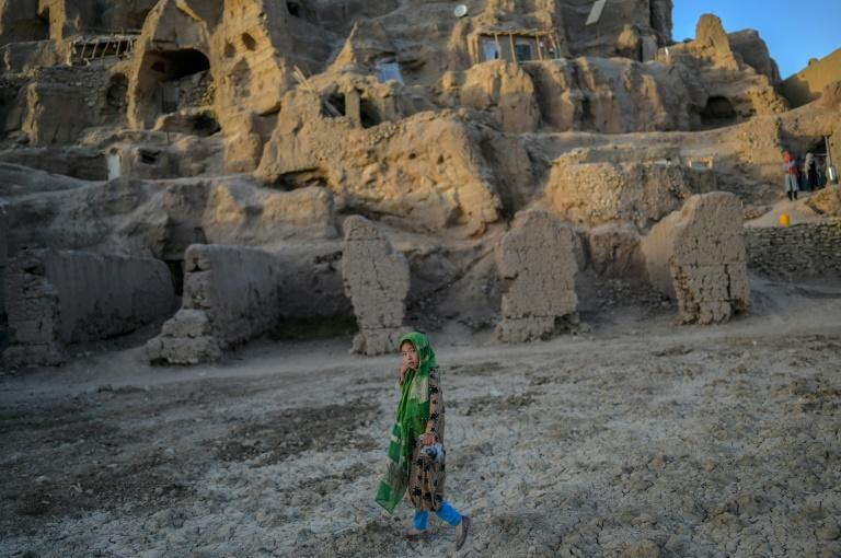 Fears abound among the Hazara community of a repeat of the Taliban's brutal oppression (AFP/BULENT KILIC)