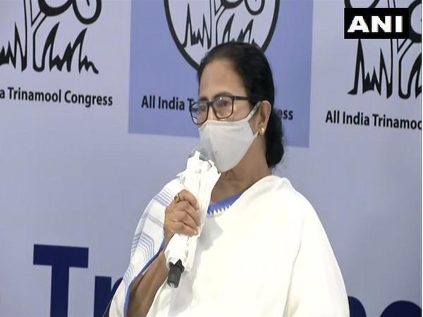 West Bengal Chief Minister Mamata Banerjee speaking to reporters in Kolkata on Friday. [Photo/ANI]
