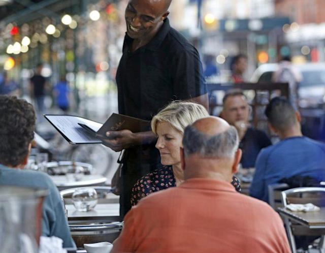 The service sector added 35k jobs in June. (Source: Associated Press)