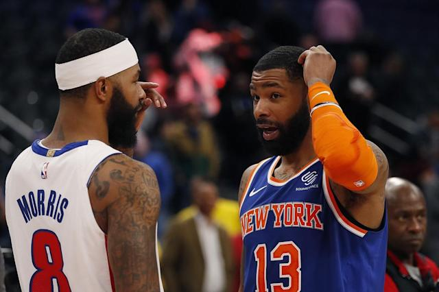 'Hawks in the NBA: Morris twins ready to heat up Los Angeles