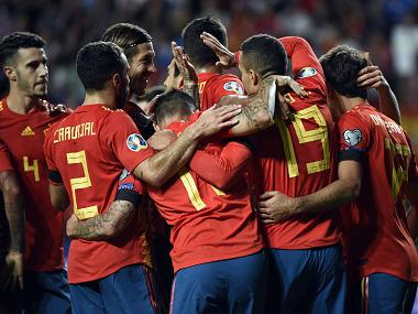 Euro 2020 qualifiers: Rodrigo, Paco Alcacer score twice as Spain maintain 100 percent record with win over Faroe Islands