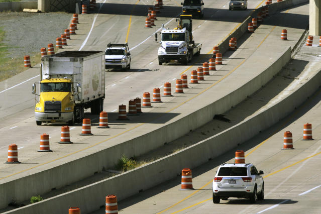 Infrastructure might be the next issue the Trump administration tries to tackle in 2018. But after a grueling 2017 that culminated in a big corporate tax cut being signed into law, it's unclear how much political will exists for more government spending. (AP Photo/Danny Johnston)