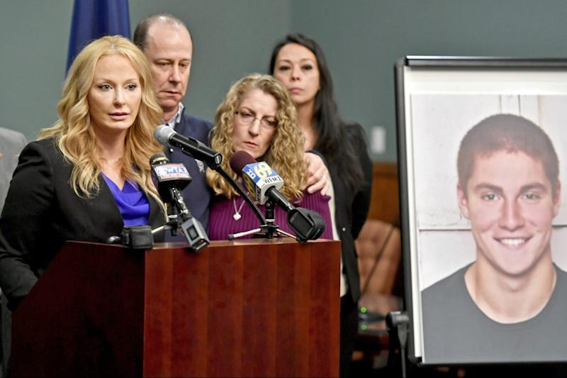 Tensions flare in 4th day of Penn State frat hazing death hearings