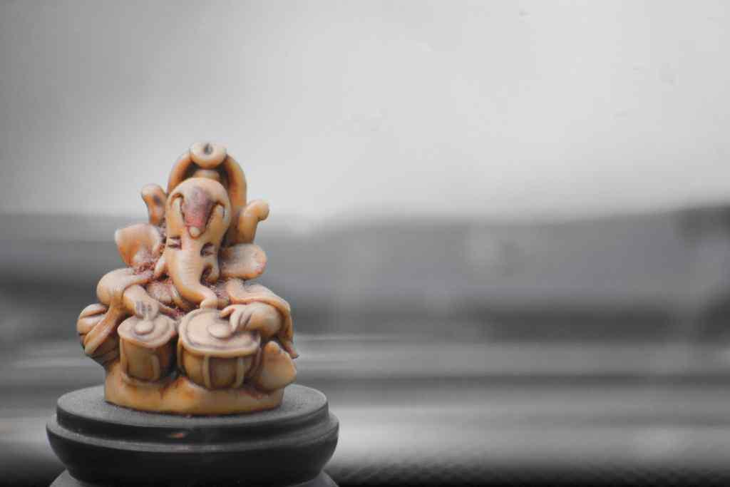 "Ganesha in a car. <br>By <a target=""_blank"" href=""http://www.flickr.com/photos/naveen_kumar_reddy/"">Ganugapenta NaveenKumar Reddy </a>"