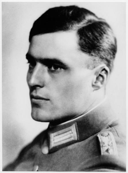 This undated handout picture released by German Resistance Memorial Center shows a portrait of German member of the resistance Claus Graf (Count) Schenk von Stauffenberg who sought to assassinate Adolf Hitler 75 years ago