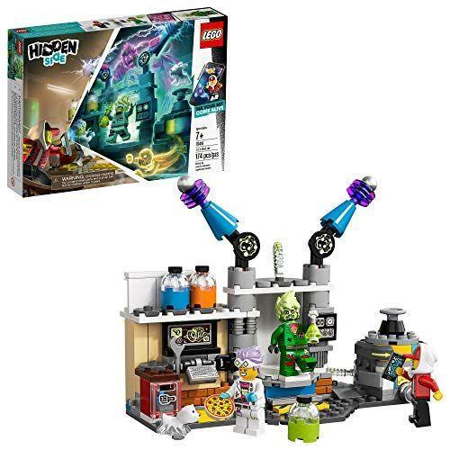 "<p><strong>LEGO</strong></p><p>amazon.com</p><p><strong>$15.99</strong></p><p><a href=""https://www.amazon.com/dp/B07Q2WRZ4R?tag=syn-yahoo-20&ascsubtag=%5Bartid%7C10055.g.29622713%5Bsrc%7Cyahoo-us"" rel=""nofollow noopener"" target=""_blank"" data-ylk=""slk:Shop Now"" class=""link rapid-noclick-resp"">Shop Now</a></p><p>She'll love playing with this LEGO set that <strong>combines augmented reality with physical play </strong>when paired with a tablet or smartphone<strong>. </strong>Kids built the haunted lab set, then use the app to solve mysteries and fight ghosts. <em>Ages 7+</em></p>"