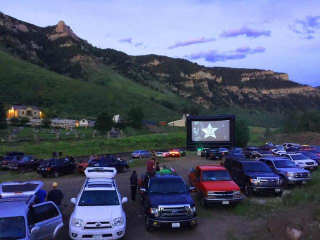 Blue Starlite Mini Urban Drive-In will be opened for business as usual this holiday weekend, and will include a Fourth of July-themed movie and digital fireworks. (Photo: Josh Frank)