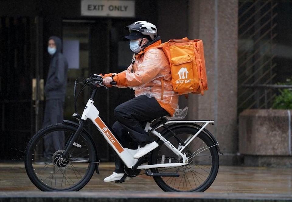The boss of Grubhub has quit the board of Just Eat Takeaway (Peter Byrne / PA) (PA Wire)
