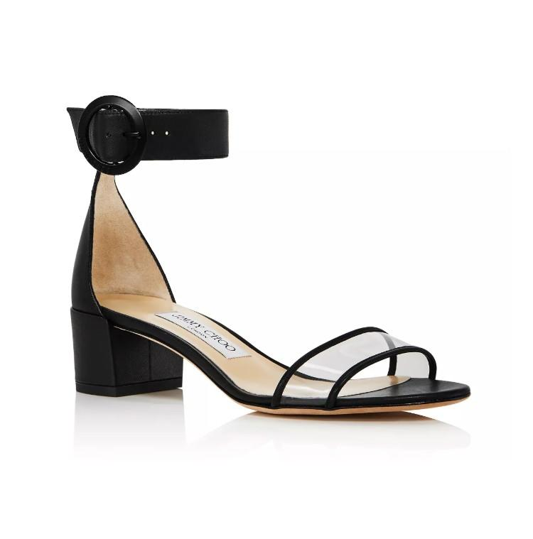 Jimmy Choo Women's Jaimie 40 Block Heel Sandals. (Photo: Bloomingdales)