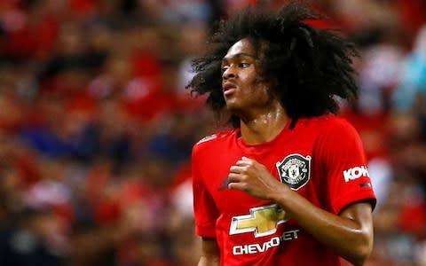 <span>Youngsters like Tahith Chong are being given valuable experience on tour</span> <span>Credit: REUTERS </span>