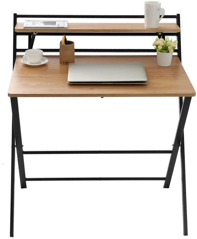 """<h2><a href=""""https://www.amazon.com/Folding-Computer-Table-No-Assembly-Required/dp/B07V1P1NJV"""" rel=""""nofollow noopener"""" target=""""_blank"""" data-ylk=""""slk:Small Folding Desk"""" class=""""link rapid-noclick-resp"""">Small Folding Desk</a></h2><br> Larger desks are not box-sized-apartment friendly; a folding desk is a better way to work and then re-store. <br><br><strong>Mefedcy Furniture</strong> Small Folding Desk, $, available at <a href=""""https://www.amazon.com/Folding-Computer-Table-No-Assembly-Required/dp/B07V1P1NJV"""" rel=""""nofollow noopener"""" target=""""_blank"""" data-ylk=""""slk:Amazon"""" class=""""link rapid-noclick-resp"""">Amazon</a>"""