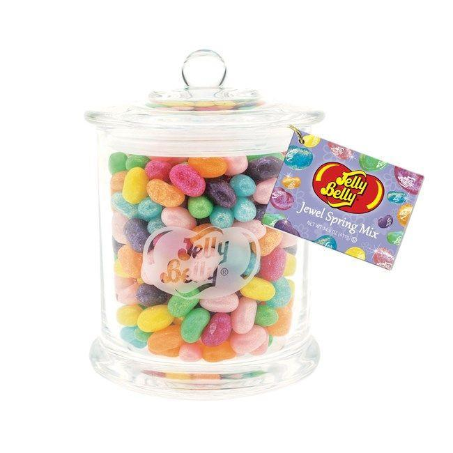 "<p><strong>Jelly Belly</strong></p><p>jellybelly.com</p><p><strong>$14.99</strong></p><p><a href=""https://go.redirectingat.com?id=74968X1596630&url=https%3A%2F%2Fwww.jellybelly.com%2Fjewel-spring-mix-glass-jar%2Fp%2F96786&sref=https%3A%2F%2Fwww.countryliving.com%2Fshopping%2Fgifts%2Fg15948579%2Feaster-gifts-for-kids%2F"" rel=""nofollow noopener"" target=""_blank"" data-ylk=""slk:Shop Now"" class=""link rapid-noclick-resp"">Shop Now</a></p><p>All of your favorite Spring Jelly Belly flavors in a glass jar that makes gifting easy. </p>"