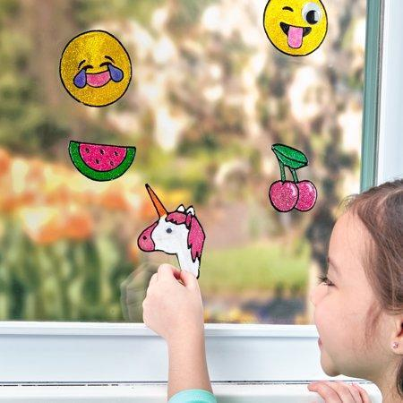 """<p><strong>Creativity for Kids</strong></p><p>walmart.com</p><p><strong>$16.00</strong></p><p><a href=""""https://go.redirectingat.com?id=74968X1596630&url=https%3A%2F%2Fwww.walmart.com%2Fip%2F587202356&sref=https%3A%2F%2Fwww.goodhousekeeping.com%2Fhome%2Fcraft-ideas%2Fg31897586%2Fcraft-kits-for-kids%2F"""" rel=""""nofollow noopener"""" target=""""_blank"""" data-ylk=""""slk:Shop Now"""" class=""""link rapid-noclick-resp"""">Shop Now</a></p><p>Kids can make a work of art that also doubles as room décor. The set comes with markers and a color-by-number explanation if they need a little guidance about how to get the emojis just right. </p>"""