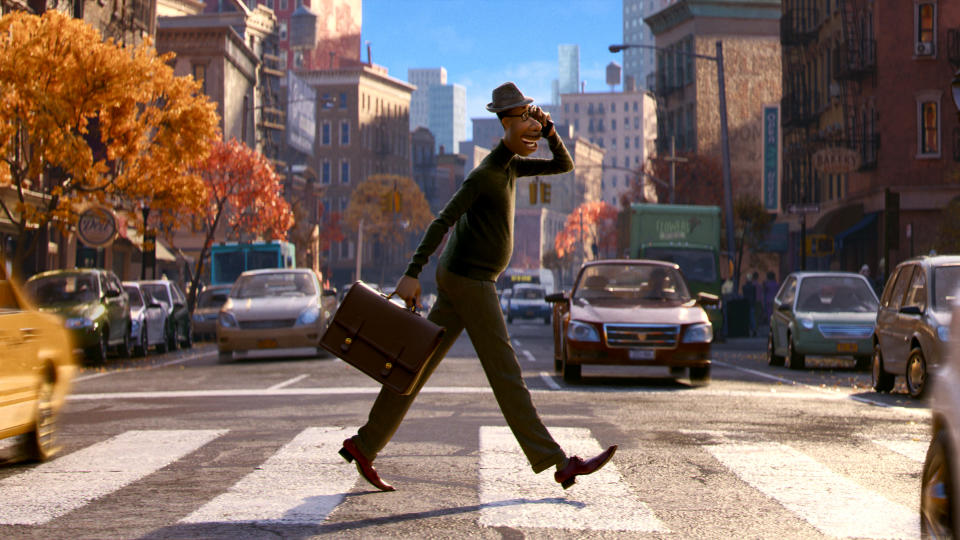 Pete Docter, director of <em>Inside Out</em>, is set to delve into the inner workings of humanity for Pixar all over again. This time, Jamie Foxx's aspiring musician is separated from his soul in the wake of an accident. (Credit: Pixar)