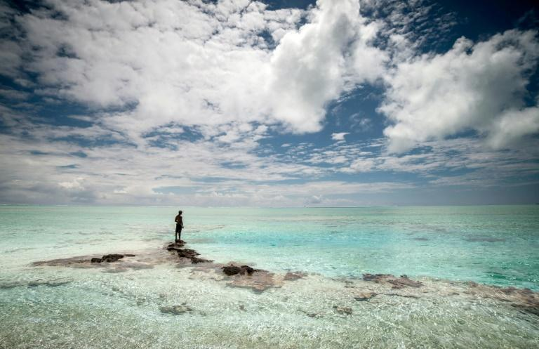 Ancient Polynesians expanded to remote islands from the Tuamotu archipelago (AFP/GREGORY BOISSY)