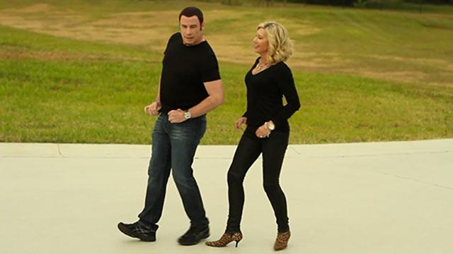 Travolta, Newton-John Team Up