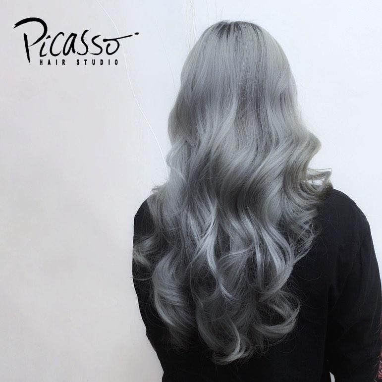 Grey Hair by Picasso Hair Studio
