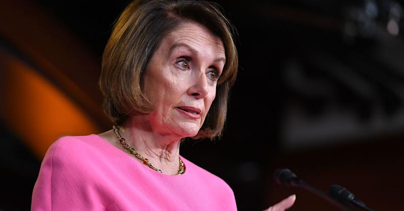 US House Speaker Nancy Pelosi speaks during her weekly press conference at the US Capitol in Washington, DC, on May 23, 2019.