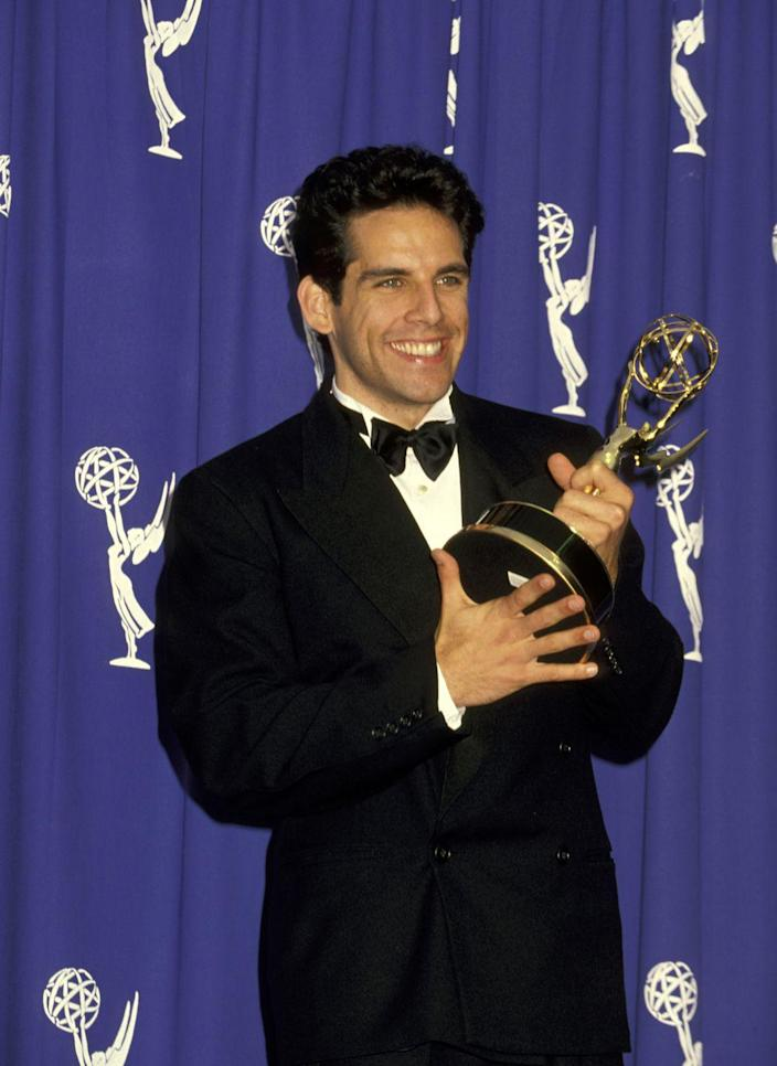 """<p>Stiller wasn't quite unknown when he got his MTV gig—he did come from comedy royalty, being the son of comedians Jerry Stiller and Anne Meara. He'd also been a featured performer on <em>Saturday Night Live</em>, which is what earned him <em>The Ben Stiller Show</em>. The short-lived series (only 13 episodes) blended sketches with music videos and even earned an Emmy Award for """"Outstanding Writing in a Variety or Music Program."""" While axed after only one season, Stiller quickly went on to direct and co-star in <em>Reality Bites</em>, and then movies like<em> Meet the Parents, Zoolander,</em> and <em>Dodgeball</em>. <br></p>"""