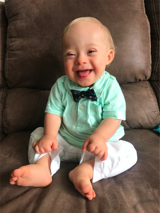 The newest Gerber Baby Photo Search winner is 18-month-old Lucas Warren from Dalton, Georgia.  (Courtesy of Gerber)