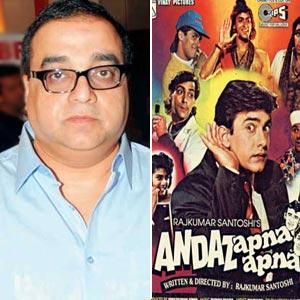 Rajkumar Santoshi To Start 'Andaz Apna Apna 2' By Year End