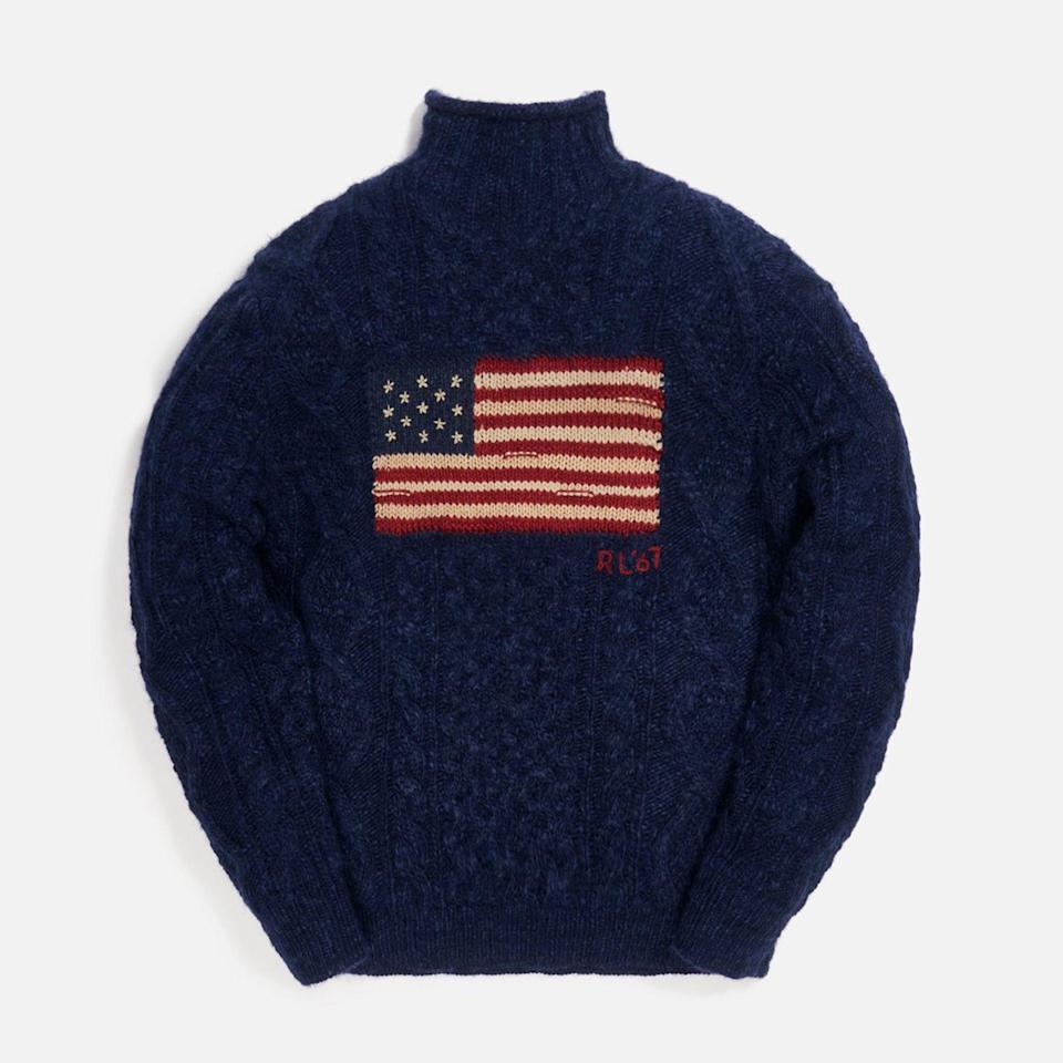 """<p><strong>Polo Ralph Lauren x Kith</strong></p><p>kith.com</p><p><strong>$298.00</strong></p><p><a href=""""https://kith.com/collections/polo-ralph-lauren-exclusive-capsule-for-kith/products/rl710833011001-nvy"""" rel=""""nofollow noopener"""" target=""""_blank"""" data-ylk=""""slk:Buy"""" class=""""link rapid-noclick-resp"""">Buy</a></p>"""