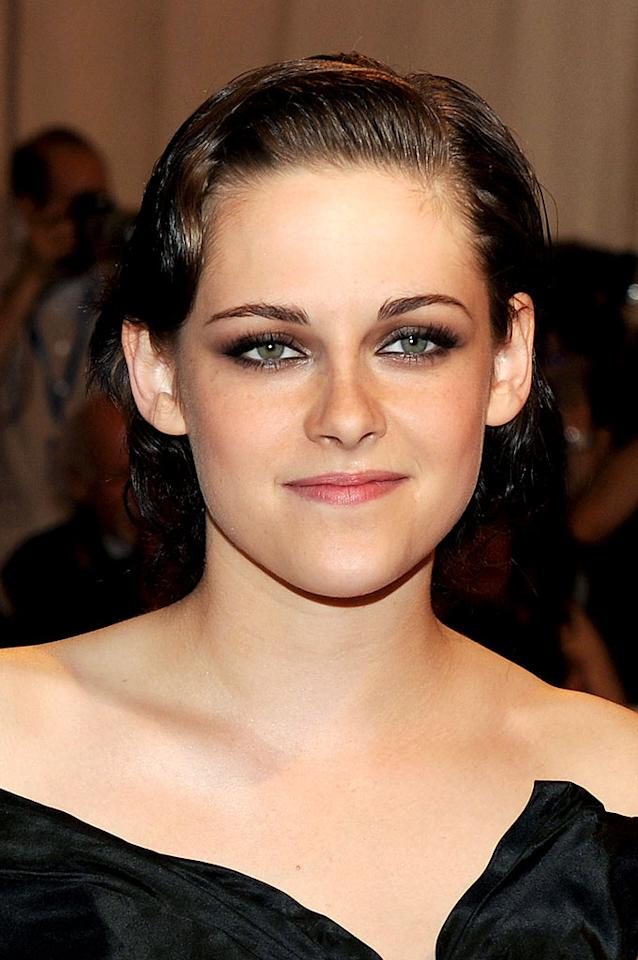 """""""Twilight's"""" Kristen Stewart isn't always comfortable in the spotlight, but the actress knows how to look the part of a Hollywood leading lady when she wants to. Stephen Lovekin/<a href=""""http://www.gettyimages.com/"""" target=""""new"""">GettyImages.com</a> - May 3, 2010"""