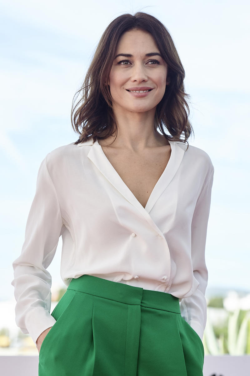 Actress Olga Kurylenko attends photocall of 'The Room' on October 07, 2019 in Sitges, Spain.