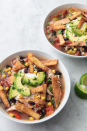 """<p>This hearty soup doubles as lunch for Monday! </p><p>Get the recipe from <a href=""""https://www.delish.com/cooking/recipe-ideas/recipes/a51825/best-slow-cooker-chicken-tortilla-soup-recipe/"""" rel=""""nofollow noopener"""" target=""""_blank"""" data-ylk=""""slk:Delish"""" class=""""link rapid-noclick-resp"""">Delish</a>.</p>"""