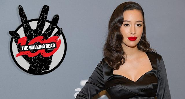Christian Serratos attends a 'The Walking Dead' event at the Four Seasons Atlanta Hotel on February 5, 2016 in Atlanta, Georgia (Photo by Marcus Ingram/WireImage)