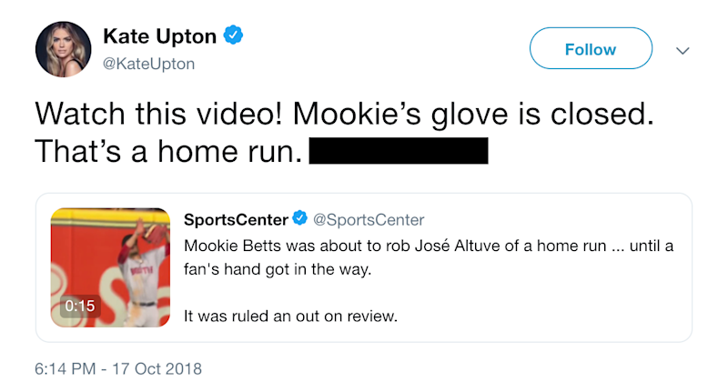 Twitter explodes over Jose Altuve controversially being ruled out on apparent HR