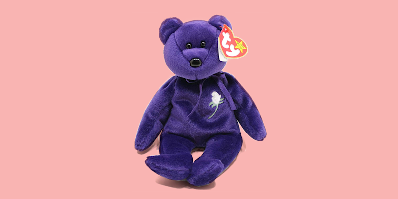 The Story Behind the Princess Diana Beanie Baby That You ve Never Heard 5523a6667600