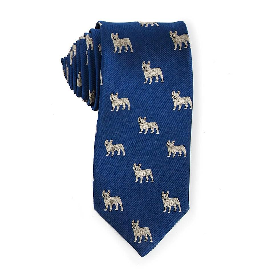 <p>Get them the <span>Choose Your Dog Breed Necktie</span> ($55) with their favorite dog on it. It'll surely make them smile.</p>
