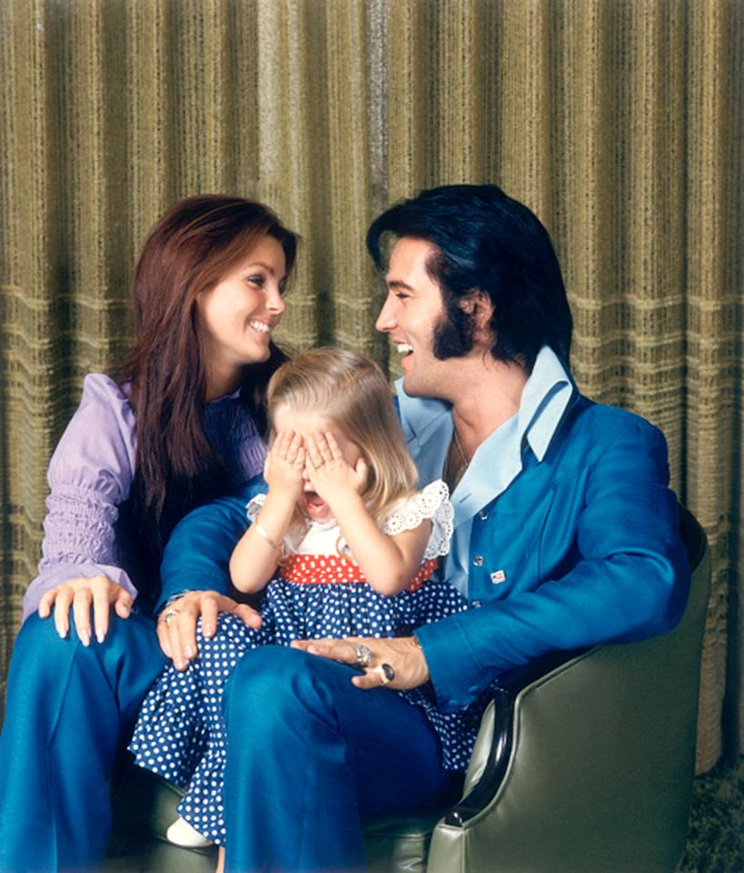 <p>But these types of sweet family photo ops ended in 1973, when Elvis and Priscilla split. The singer was smitten with his little girl, though. She began to split her time between her mom's home in Beverly Hills and Graceland. (Photo: Frank Carroll/Sygma via Getty Images) </p>