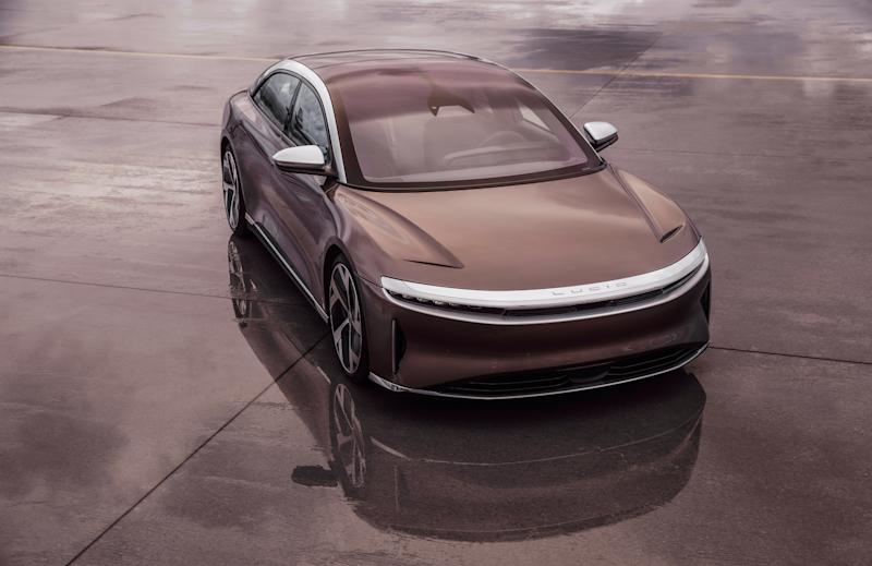 The Lucid Air. Credit: Lucid Motors.