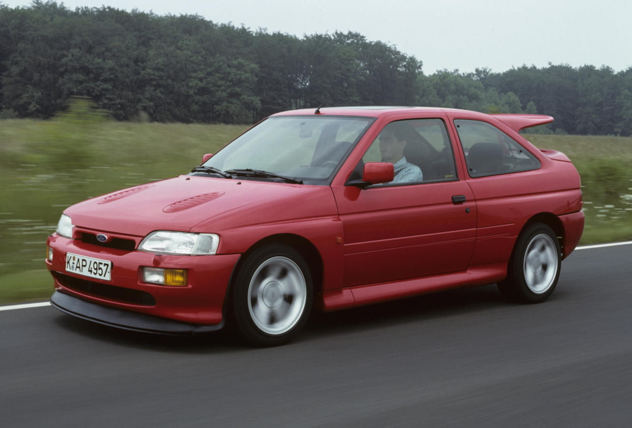 The Escort Cosworth could give most supercars a run for their money