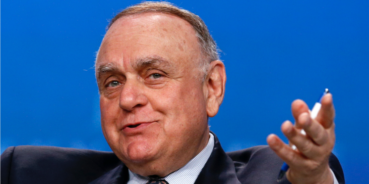 Leon G. Cooperman Chairman, Omega Advisors, speaks on a panel discussion at the annual Skybridge Alternatives Conference (SALT) in Las Vegas May 9, 2013. REUTERS/Rick Wilking (