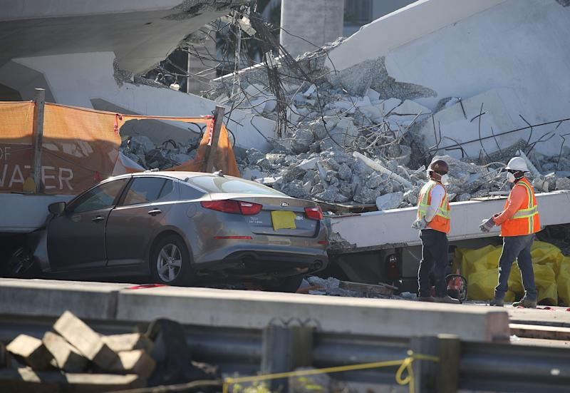 Companies That Built Collapsed FIU Bridge Had Been Fined for Safety Violations
